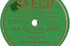 """10"""" Cuban discs"""